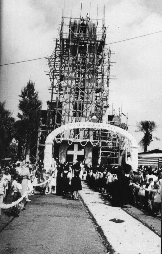 Tremedal church constructions. San Ramón, Alajuela, Costa Rica.