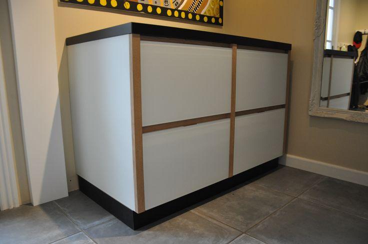 Customized dresser to for example a utility room. #inspiration #home http://www.kjeldtoft.com/