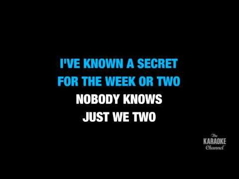 """Do You Want To Know A Secret in the Style of """"The Beatles"""" with lyrics (no lead vocal) - YouTube"""