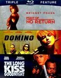 Point of No Return/Domino/The Long Kiss Goodnight [3 Discs] [Blu-ray]