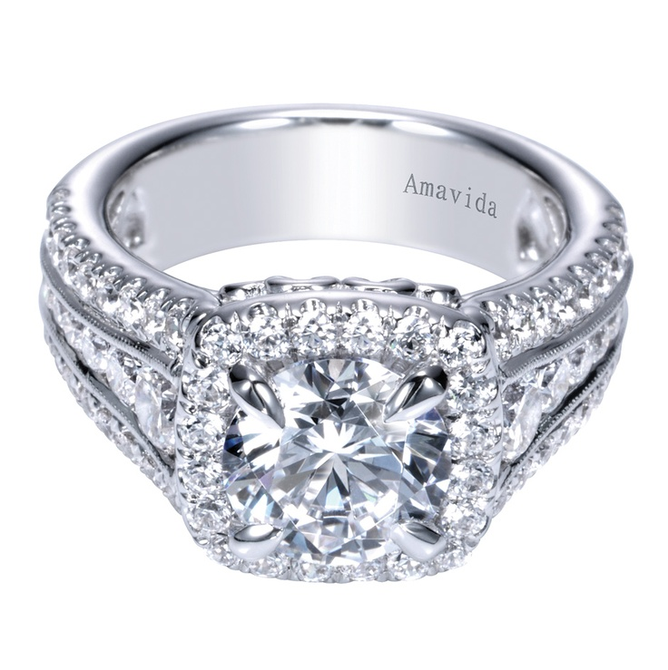rings jewelry amavida gabriel halo diamond goldsmith products triple shoppe by engagement ring grande co band