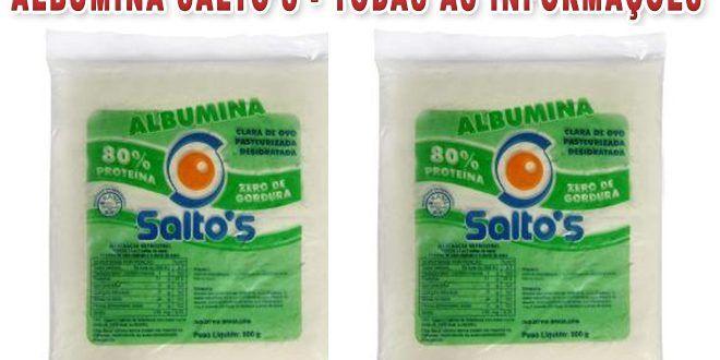 Albumina Saltos – Veja seus benefícios, como tomar, preço e onde comprar  #albumina