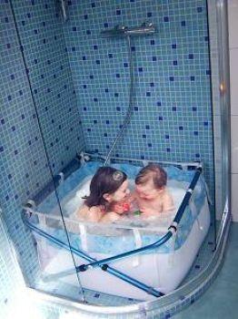 Bibabad type 690 bubbel - babybadje 139