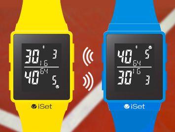 iSetWatch: een horloge speciaal voor tennissers!