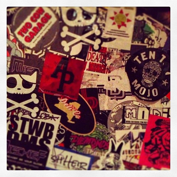 Hanging out backstage...where are we? #jamstagram #music #rock #indie #punk #backstage #stickers #instaJAM