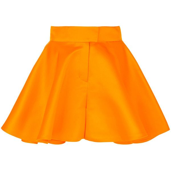 Talbot Runhof Nieve shorts ($1,150) ❤ liked on Polyvore featuring shorts, silk shorts and talbot runhof