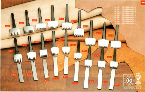 Leather Pricking Irons Leather Working Pinterest