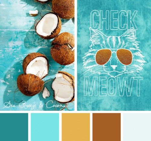 Take delight in the season of the sun and bring a fun light-stitching design to life with this Sea Breeze and Coconut color inspiration!