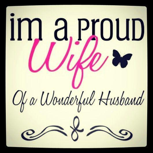 proud wife ♥ :)