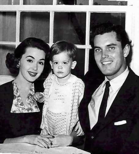 Barbara Rush and husband Jeffrey Hunter   Barbara Rush ...