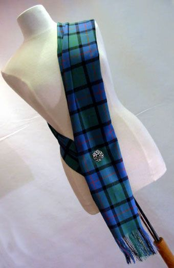 How to wear a tartan sash...