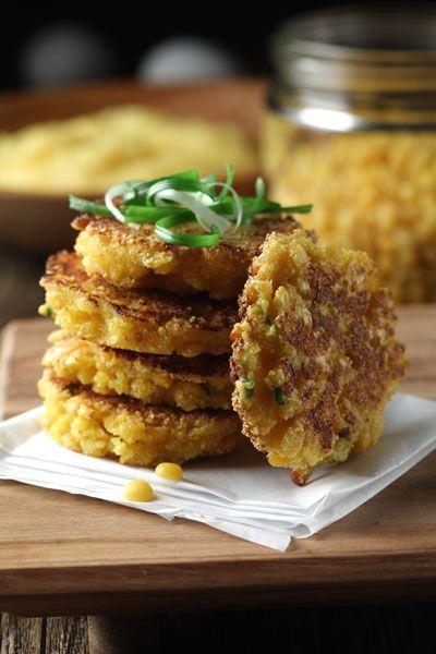 Yellow Split Pea-Cornmeal Griddle Cakes