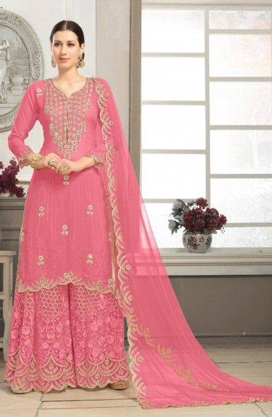 5079b9d53a50 Designer Wedding Wear Heavy Work Sharara Suits Wholesale Collection  #shopping #clothing #fashion #dress