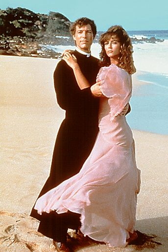 "Richard Chamberlain and Rachel Ward in ""The Thorn Birds"", 1983 mini-series"