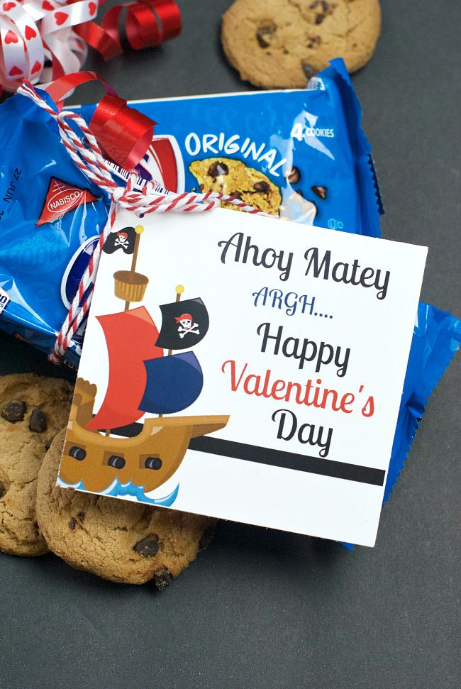 Tweet Pin It Well, shiver me timbers….Valentine's Day be comin' upon us-Aye!! And if there be one thing my fellas be lovin' it be some cookies! So, me hearties, you best be comin' to get yur Valentines ready! Alright, I'm all out of pirate sayings (and my autocorrect is going nuts)…but we are totally...Read More »