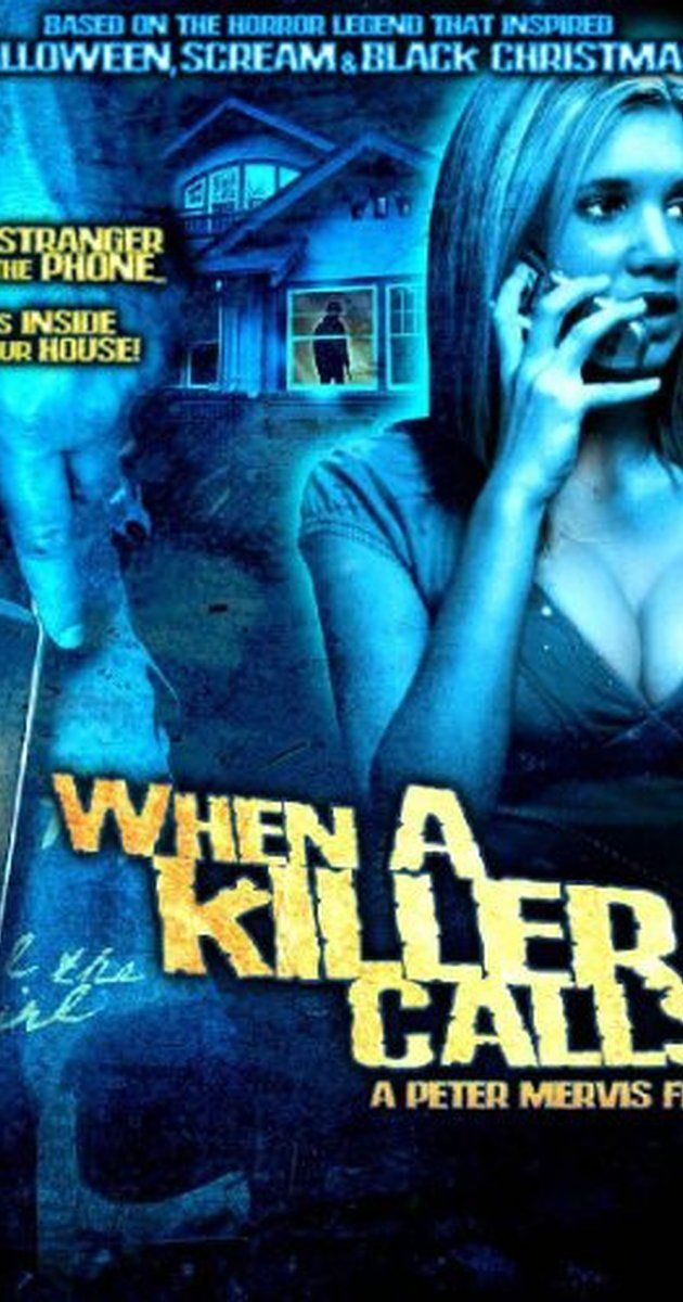 Directed by Peter Mervis.  With Rebekah Kochan, Robert Buckley, Mark Irvingsen, Sarah Hall. A babysitter begins receiving threatening phone calls from a man who has just killed an entire family. https://openload.co/embed/myihwtAk-BI/When_a_Killer_Calls_%282006%29.mp4