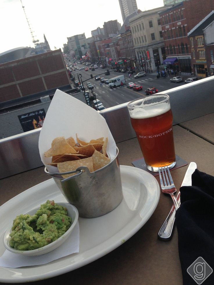 Rock Bottom Brewery Has One Of The Best Patios In Nashville.
