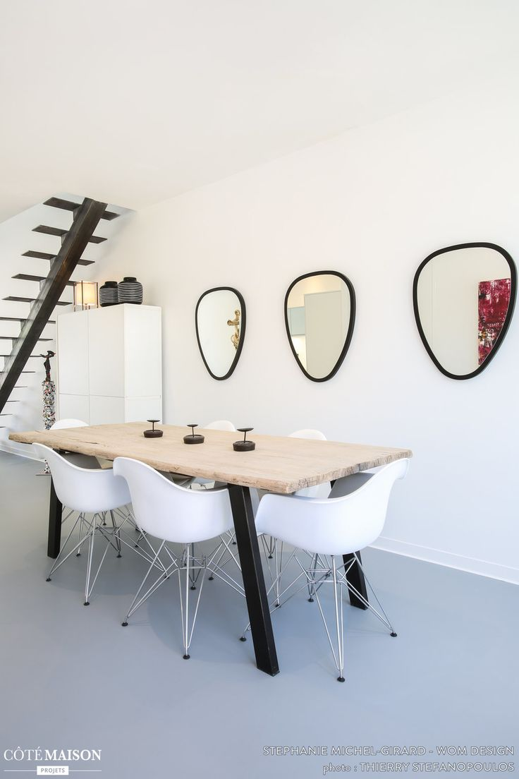 101 best projects r alisations wom design images on pinterest for Salle a manger contemporaine