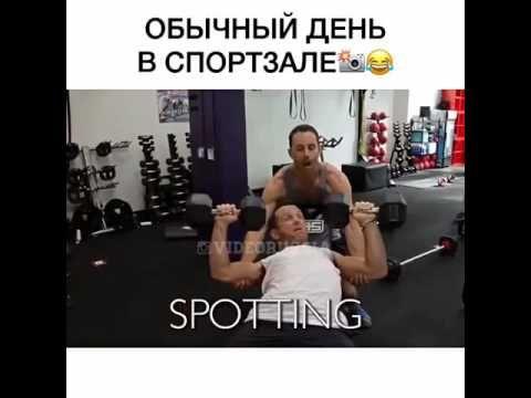 Обычный день в спортзале