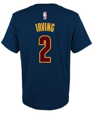 adidas Kids' Kyrie Irving Cleveland Cavaliers Player T-Shirt - Blue XL
