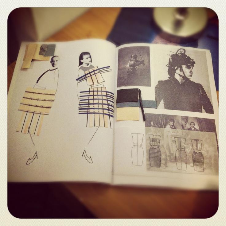 My Portfolio. Fashion illustration. Design work.