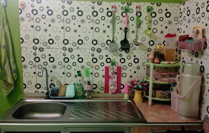 Motif Keramik Dapur Sederhana