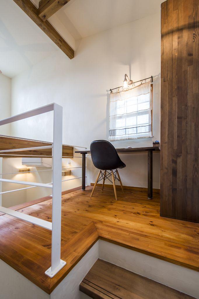 中二階を取り入れた家 北欧スタイル 注文住宅の事例写真 デザイン集 株式会社スペースラボ 注文住宅 住宅 スペース