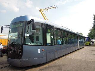 V Plzni budou jezdit tramvaje z Krnova, do půlmili... #tram #plzen #ČR