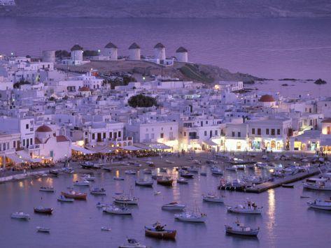 Harbor Mykonos - Greece