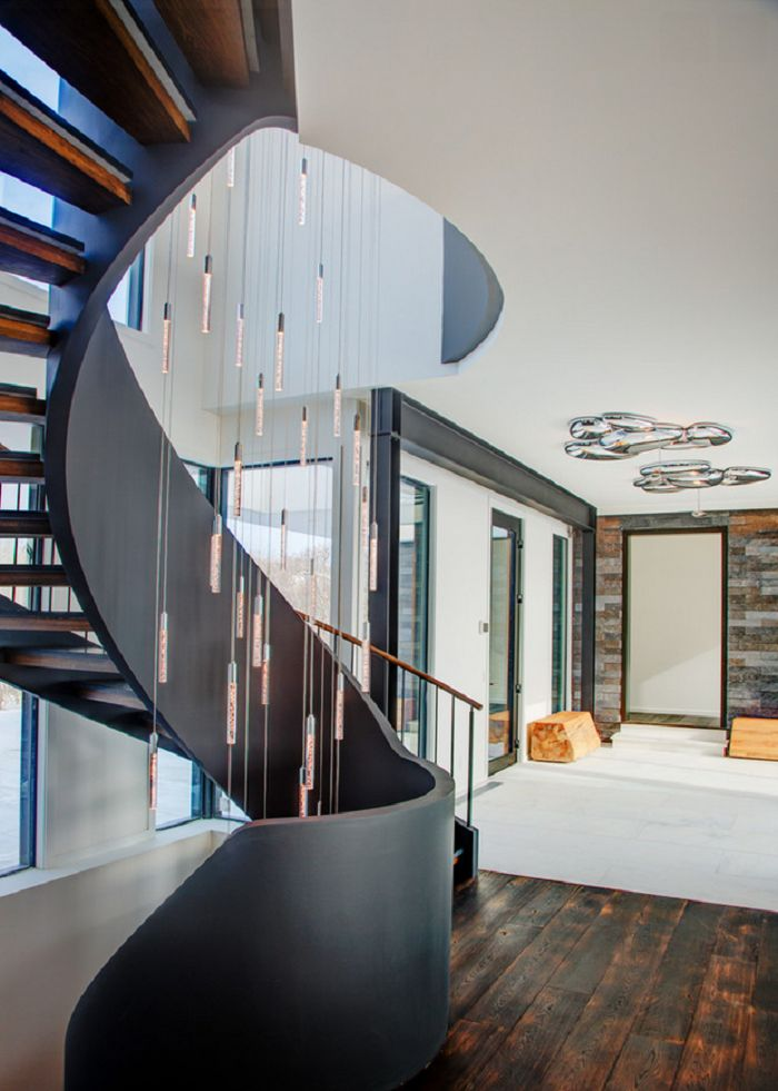 Curved Circular Stairs