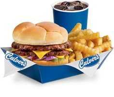Culvers, butter burger man do I want one , not just anyone