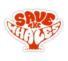 Save the Whales Sticker                                                                                                                                                                                 More
