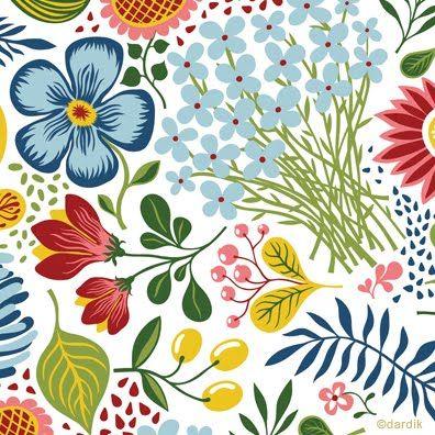 My all-time favorite pattern by Helen Dardik