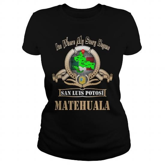 nice It's MATEHUALA T-Shirt Clothing. You Wouldn't Understand MATEHUALA Tee and Hoodie