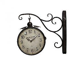 Reloj de pared de doble cara Grand Hotel