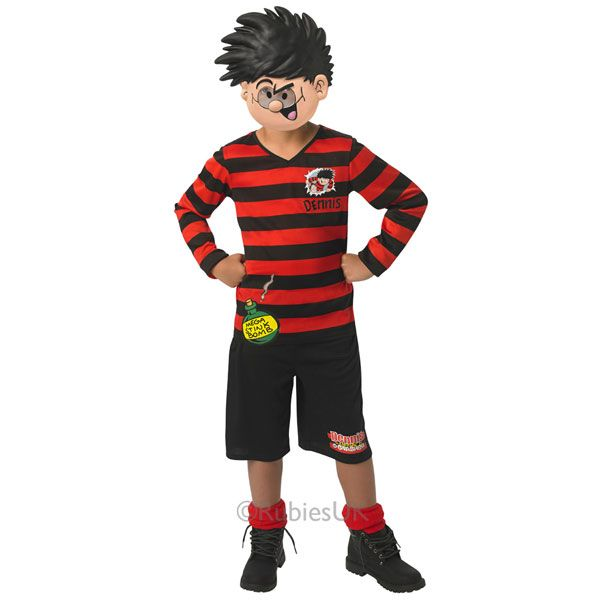 If you've got a child with a mischievous streak, this Dennis the Menace costume will be the perfect World Book Day costume for them!