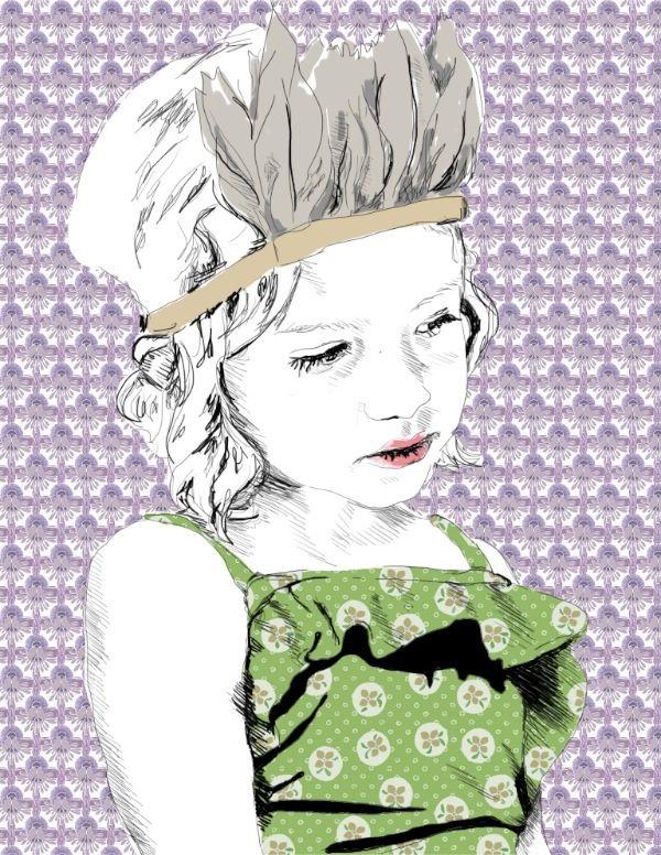 by la belette rose