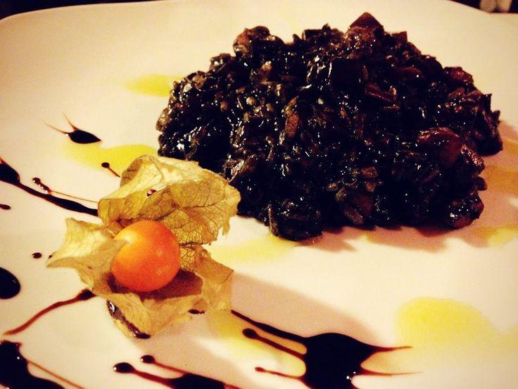 Riso al nero di Seppia del ristorante Fonte del Penitente