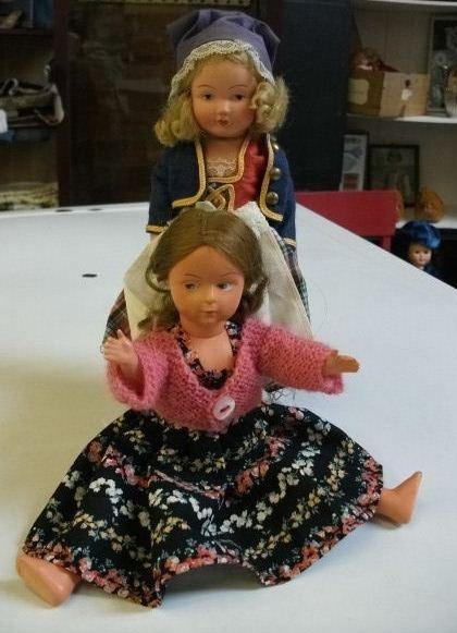 Vintage dolls. Vintage French costume doll.  Charming vintage dolls.