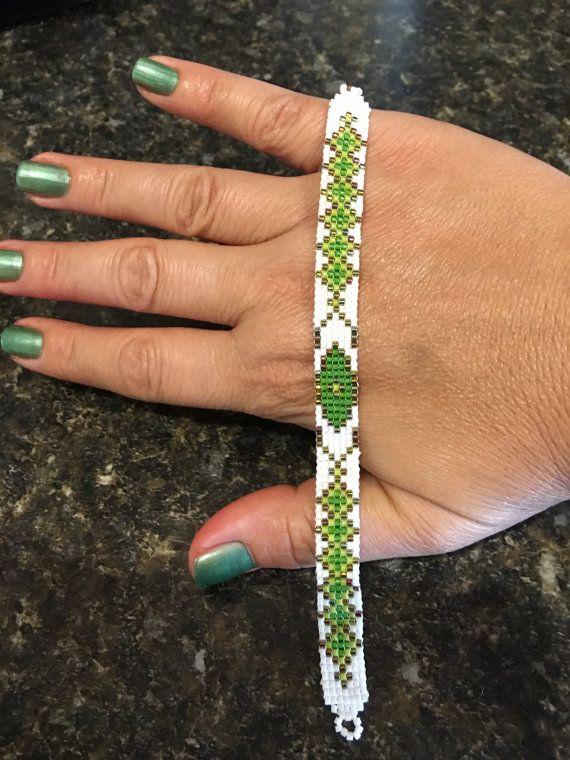 Miyuki Delica Bracelet Handmade Bracelet Nikitas by NktsDesign