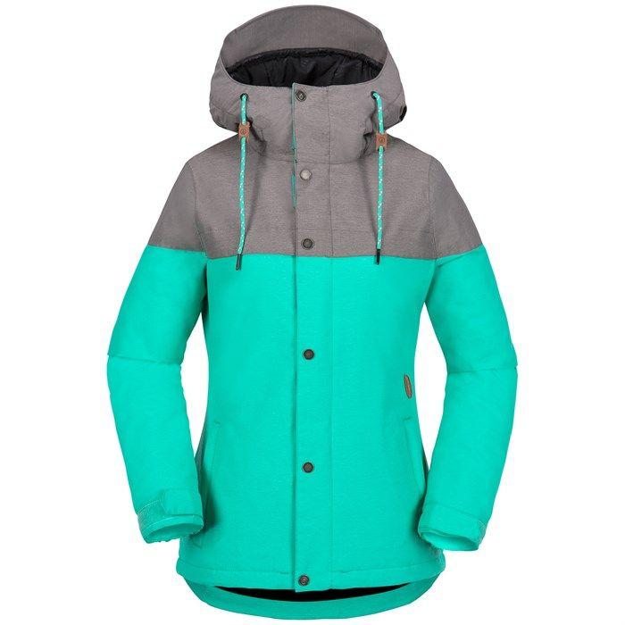 Volcom Bolt Insulated Jacket Women S Womens Snowboard Jacket Jackets For Women Jackets