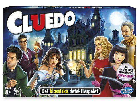 Spel: Cluedo - det klassiska mysteriespelet