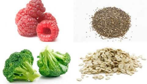 10 Best Sources of Fiber    These fiber-filled foods aid weight loss by helping you feel full longer and monitoring digestion.