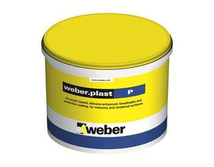weber.plast Silicone-Enhanced Masonry Paint 10L