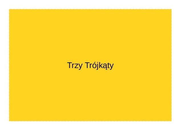 Trzy Trójkąty forma trudnych zachowań by golonkaautyzm via slideshare