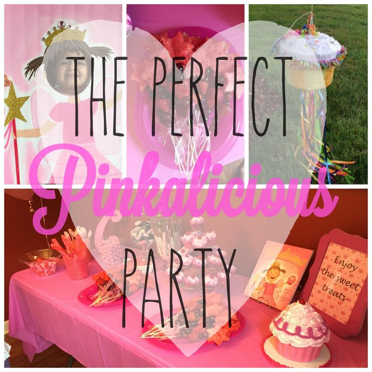 The Perfect Pinkalicious Party