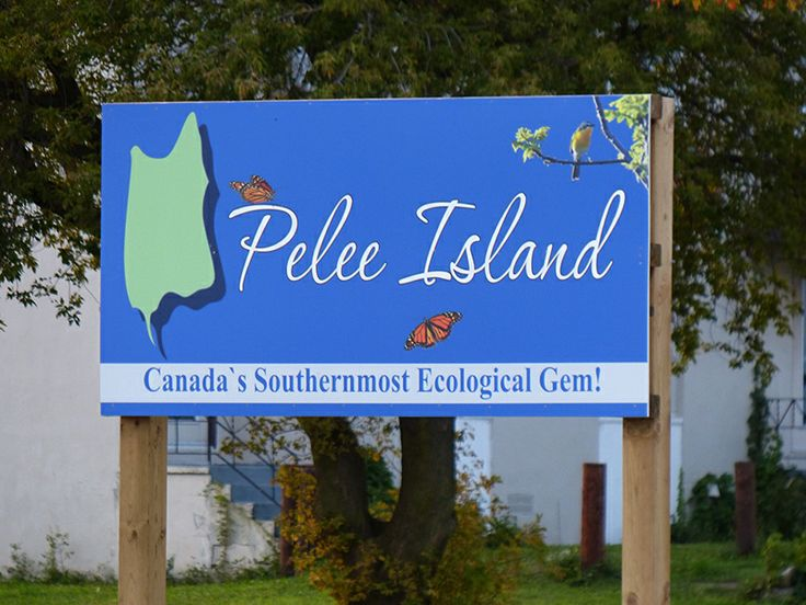 Welcome to Pelee Island, Ontario