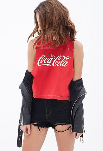 Coca-Cola Muscle Tee | FOREVER21 - 2000119157