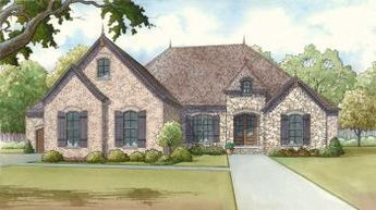 House Plan 8318-00009 - French Country Plan: 2,428 Square Feet, 3 Bedrooms, 2.5 Bathrooms