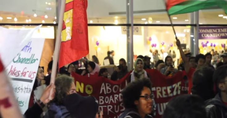 CUNY student protestors at Hunter College, New York Chant Long Live the Intifada 'Zionists Out of CUNY!'  'Long Live the Intifada!'  Chanted by CUNY student protestors at Hunte... #HOPE #Jewish #LOVE - https://www.factualisrael.com/cuny-hunter-chants-long-live-the-intifada/